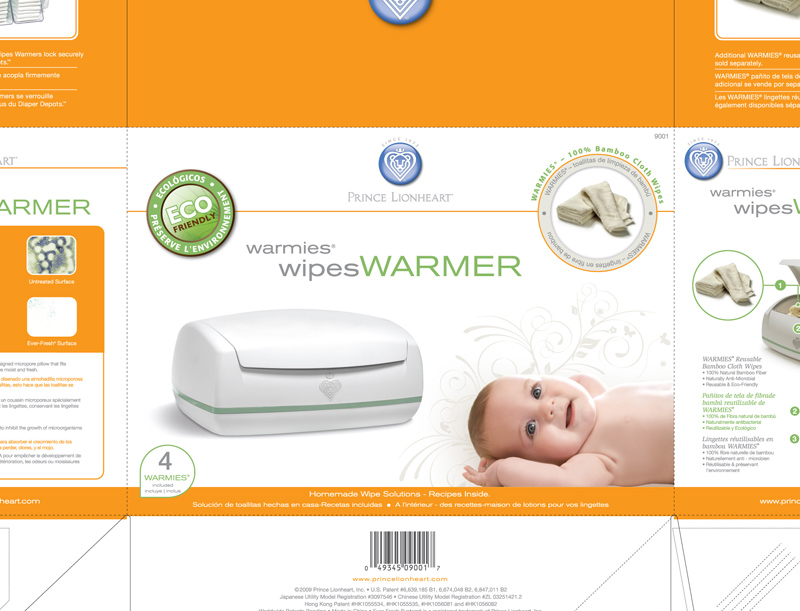 Warmies Wipes Warmer Package