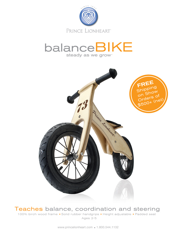 Balance Bike Magazine Ad