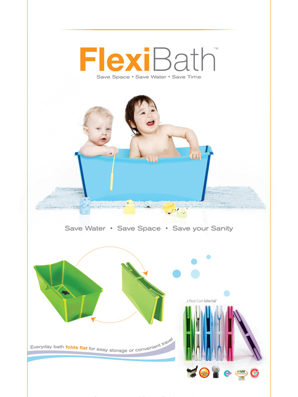 Flexi Bath Magazine Ad