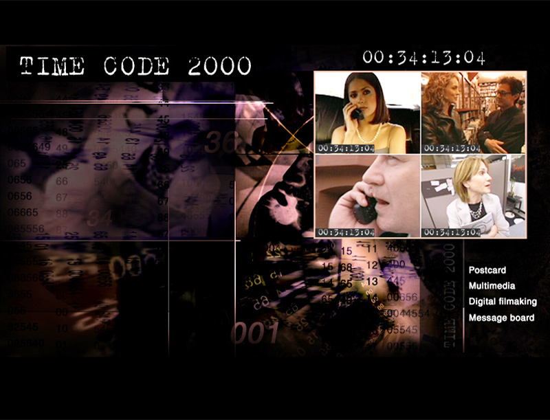 Time Code 2000 Movie Website