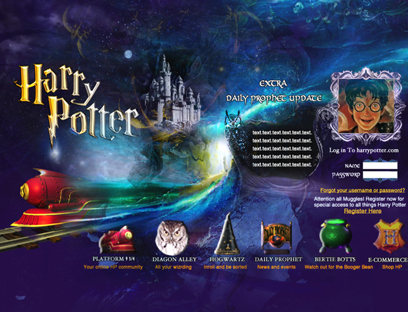 Harry Potter Movie Website