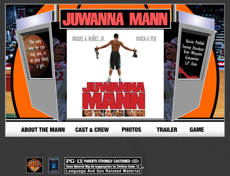 Juwanna Mann Movie Website